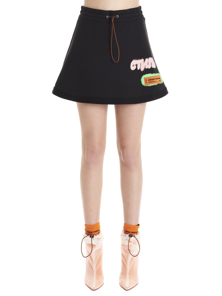 HERON PRESTON 'ctnmb' Skirt - Black