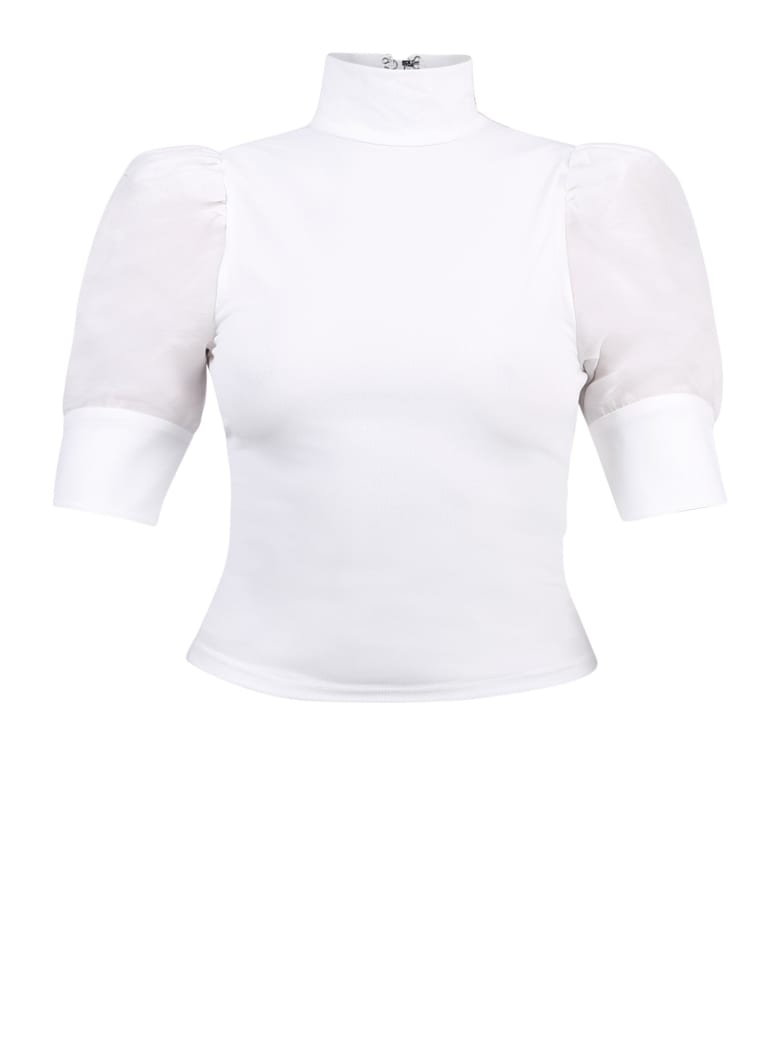 Alice + Olivia Adalyn Blouse - White