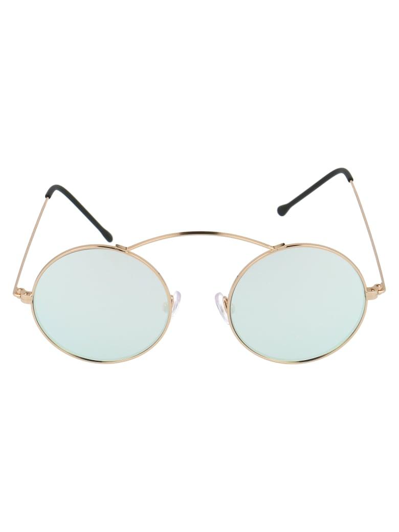 Spektre Sunglasses - Gold Silver X The Blonde Salad