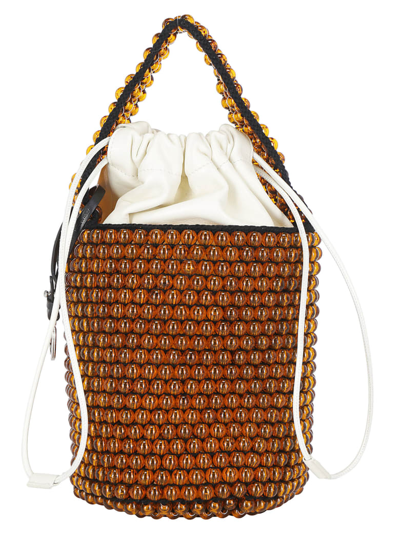 Jil Sander Bucket Bag - Medium orange