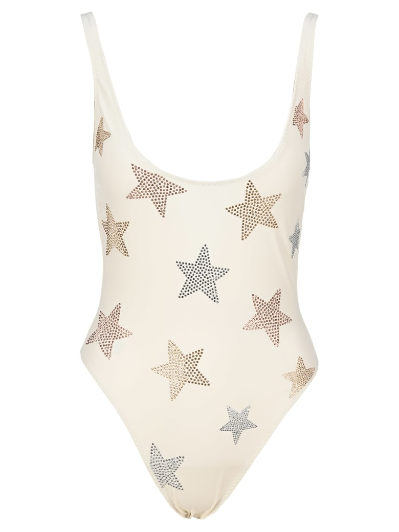 Stella McCartney One-piece Swimsuit With Stars - IVORY