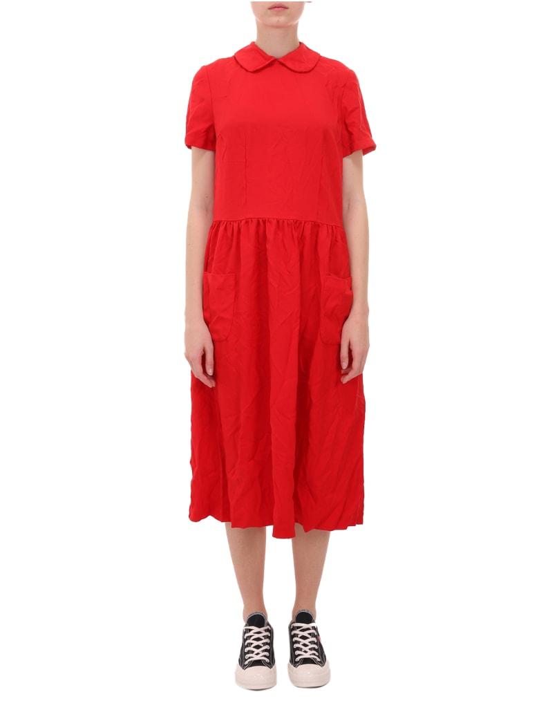 Comme Des Garçons Girl Red Dress - Red