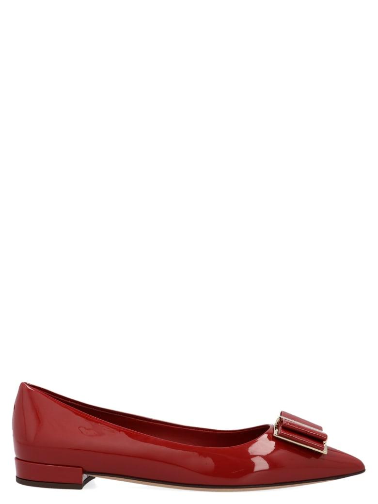 Salvatore Ferragamo 'zeri 10' Shoes - Red
