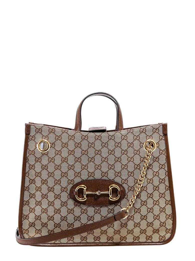 Gucci 1955 Horsebit Handbag - Rosso