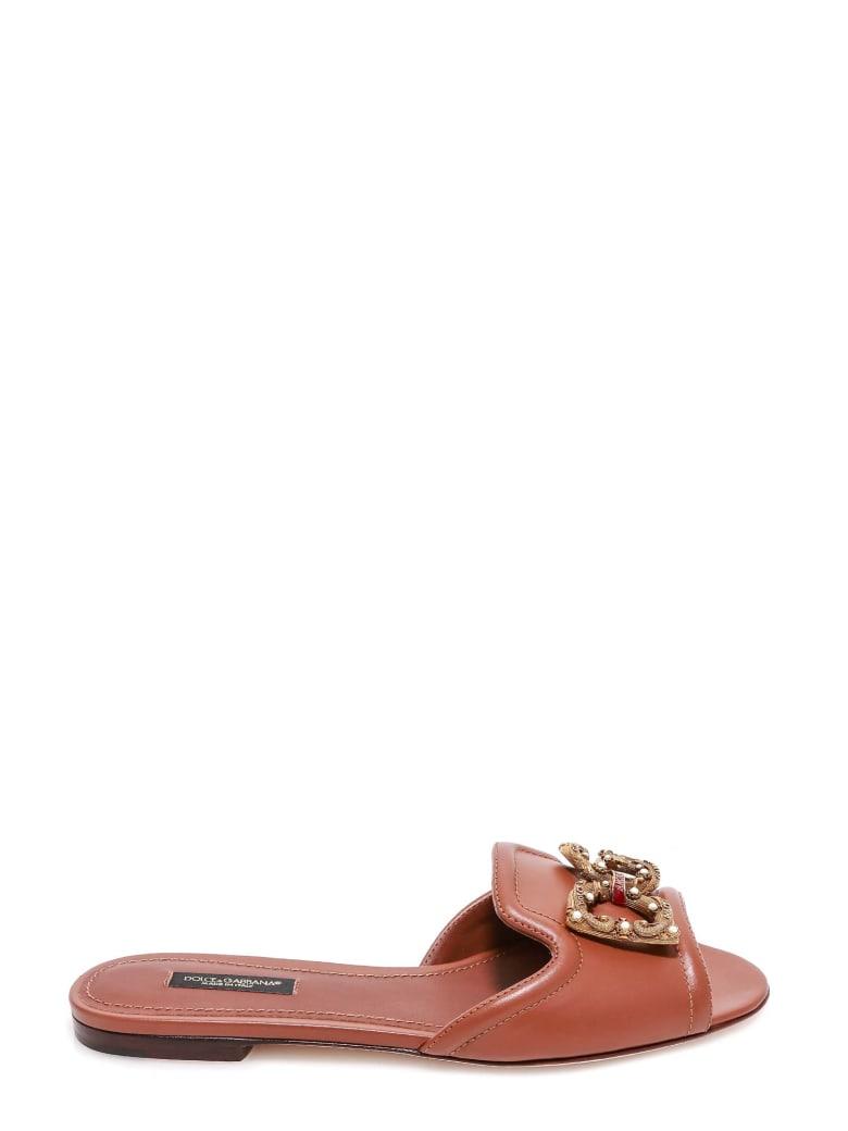 Dolce & Gabbana Sandals - Brown