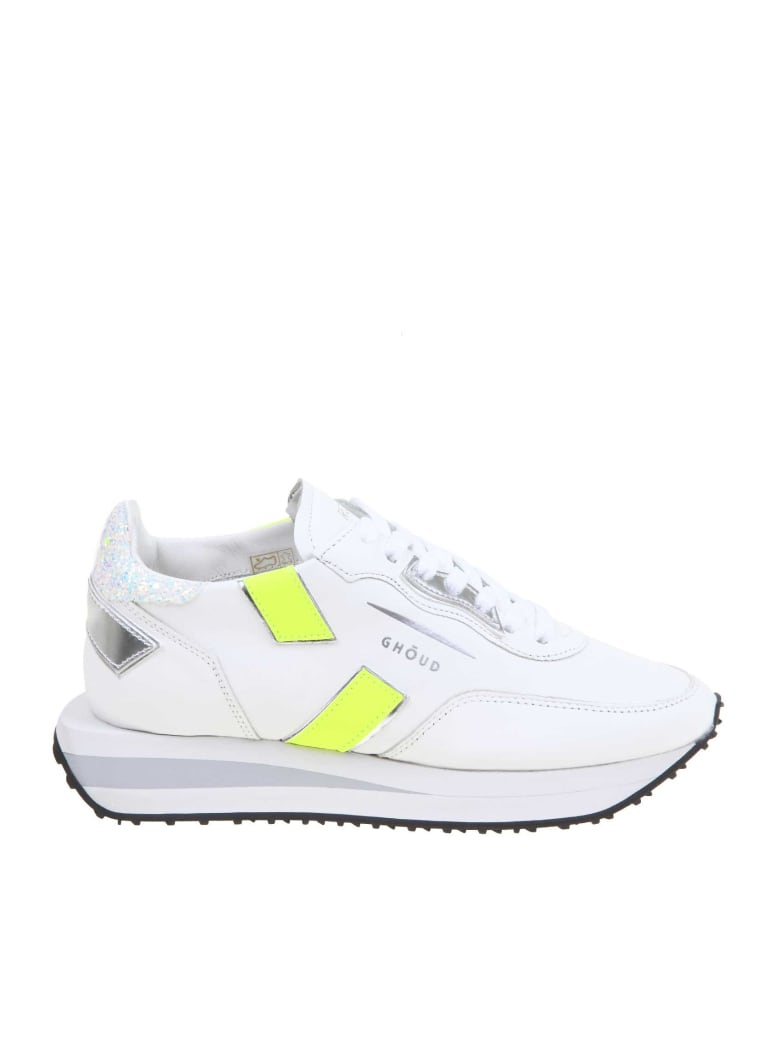 GHOUD Rush Sneakers In White Leather - White