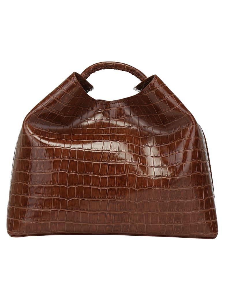 Elleme Handbag - Croco print cognac