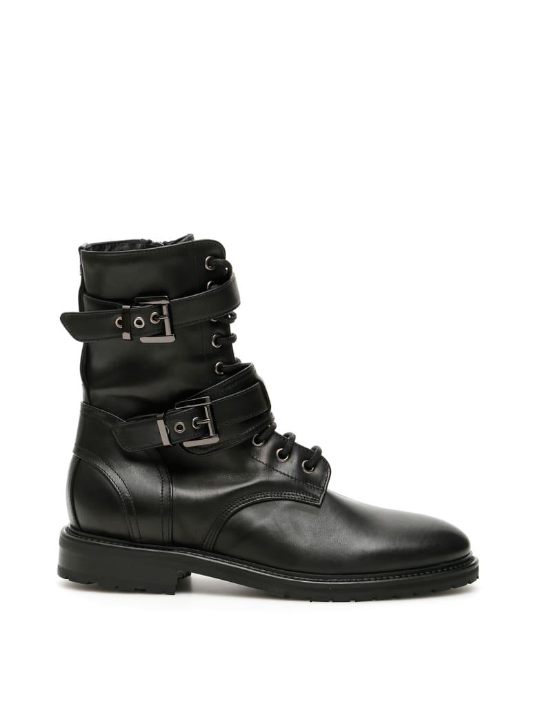 Dawni Double Buckle Boots - NERO (Black)