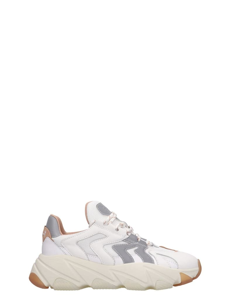 Ash Extreme 04 Sneakers In White Tech/synthetic - white