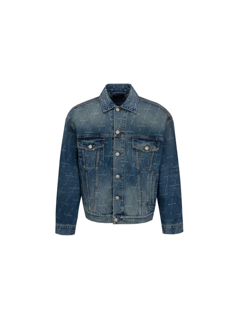 Balenciaga Denim Jacket - Blu Denim
