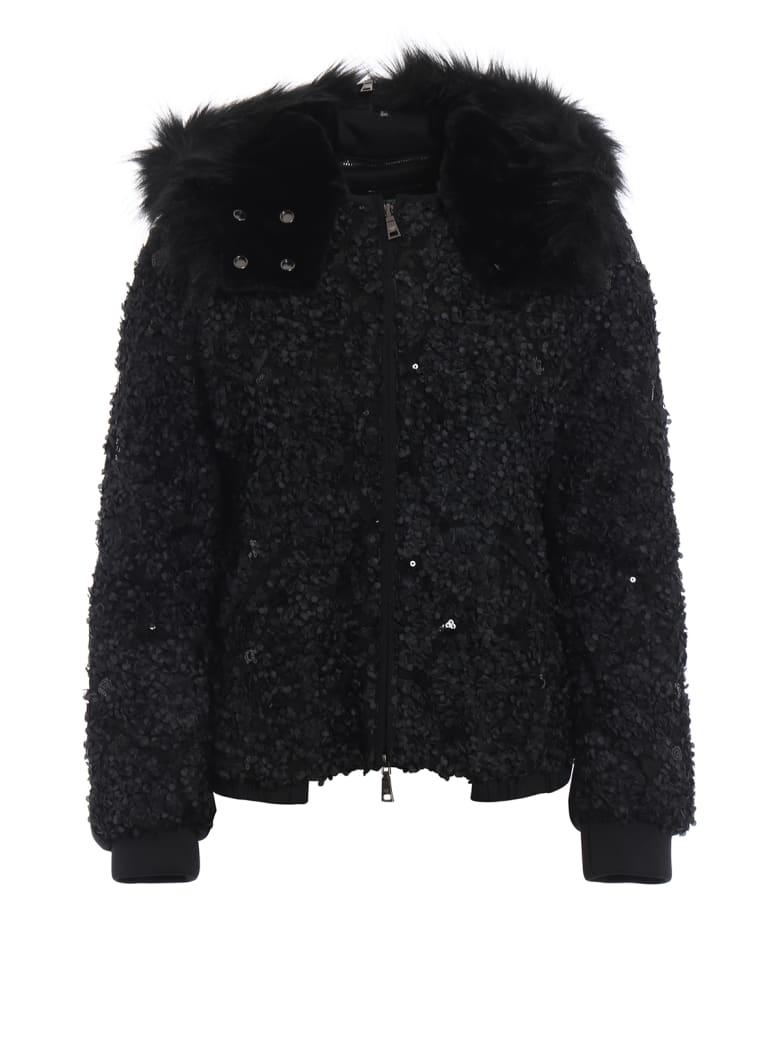 Emporio Armani Textured Jacket - Nero