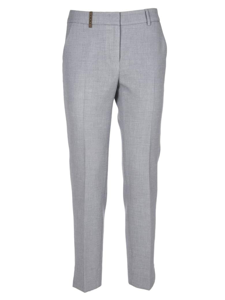 Peserico Trousers - Grey