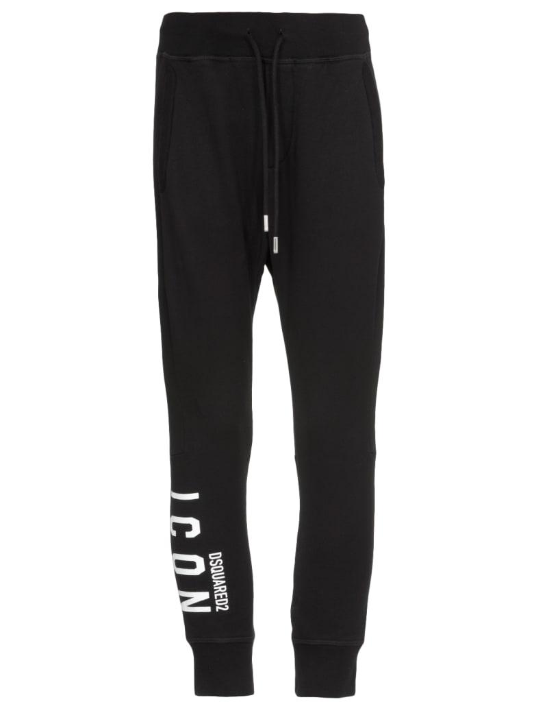 Dsquared2 Icon Pants - Black