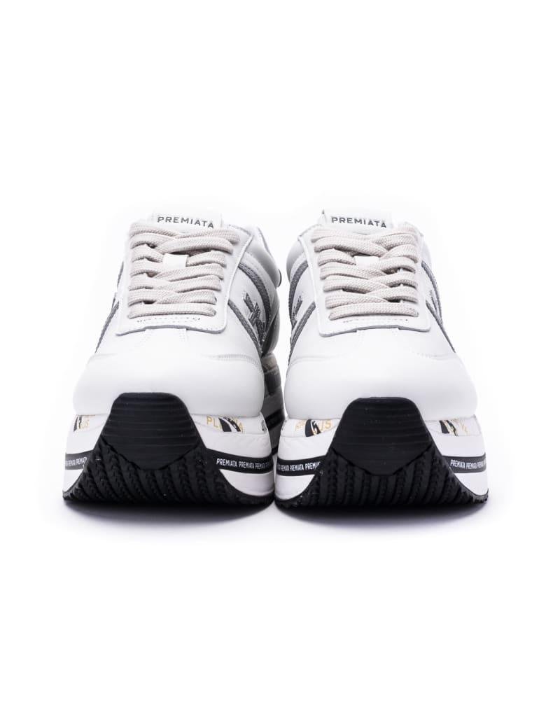 Premiata Beth Sneakers - WHITE - SILVER