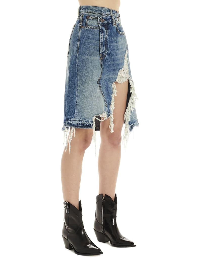 R13 Skirt - Light blue