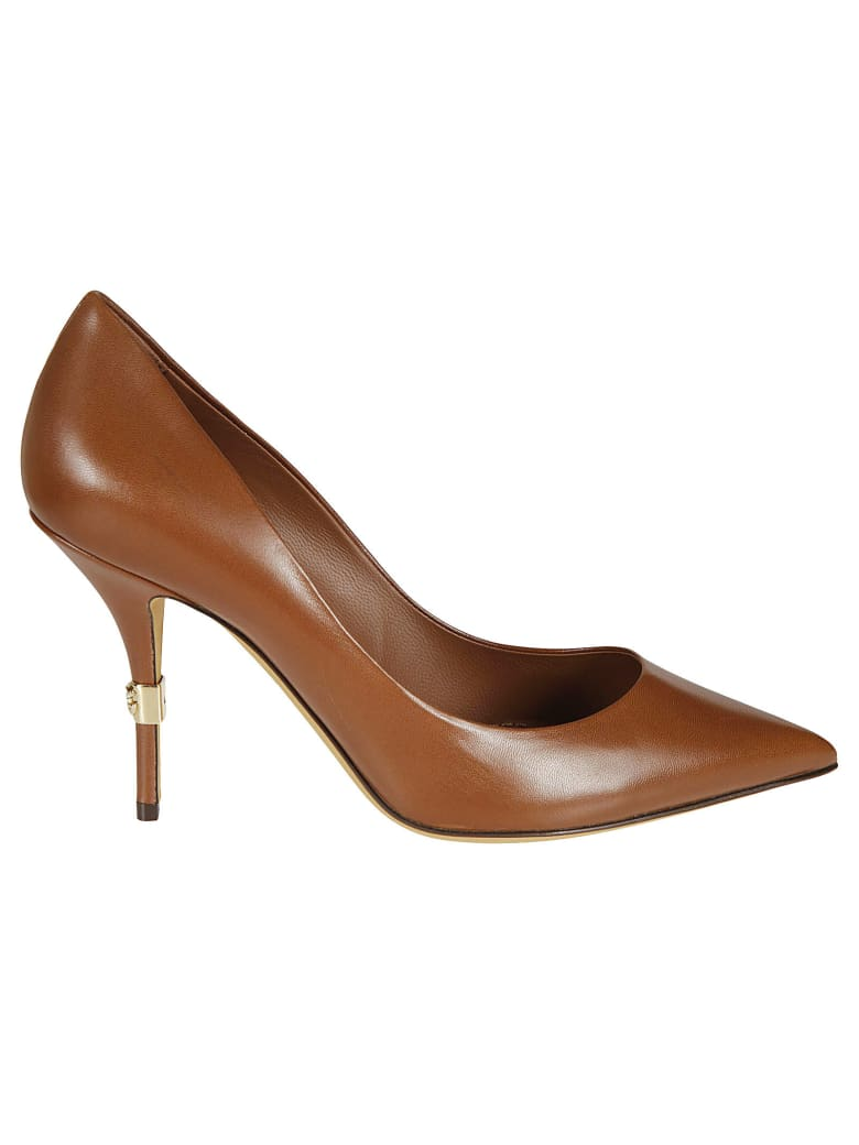 Dolce & Gabbana Pointed Toe Pumps - Cuoio