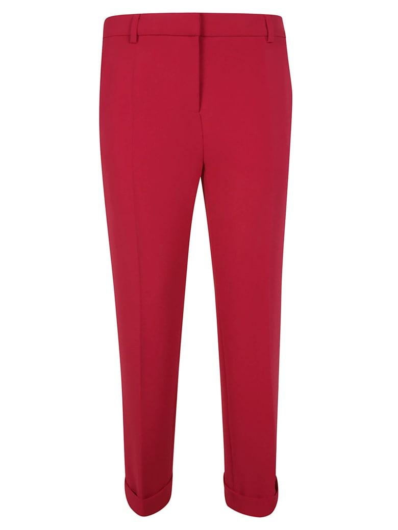 Moschino Slim-fit Trousers - fuchsia