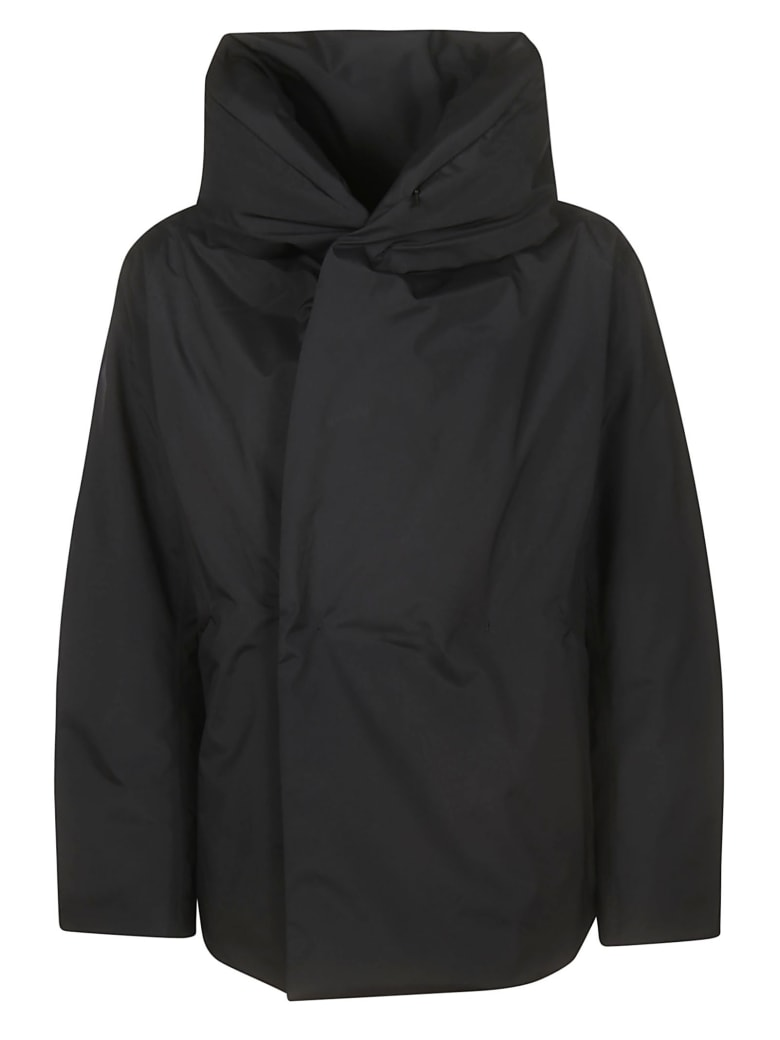 Plantation Hooded Jacket - Black