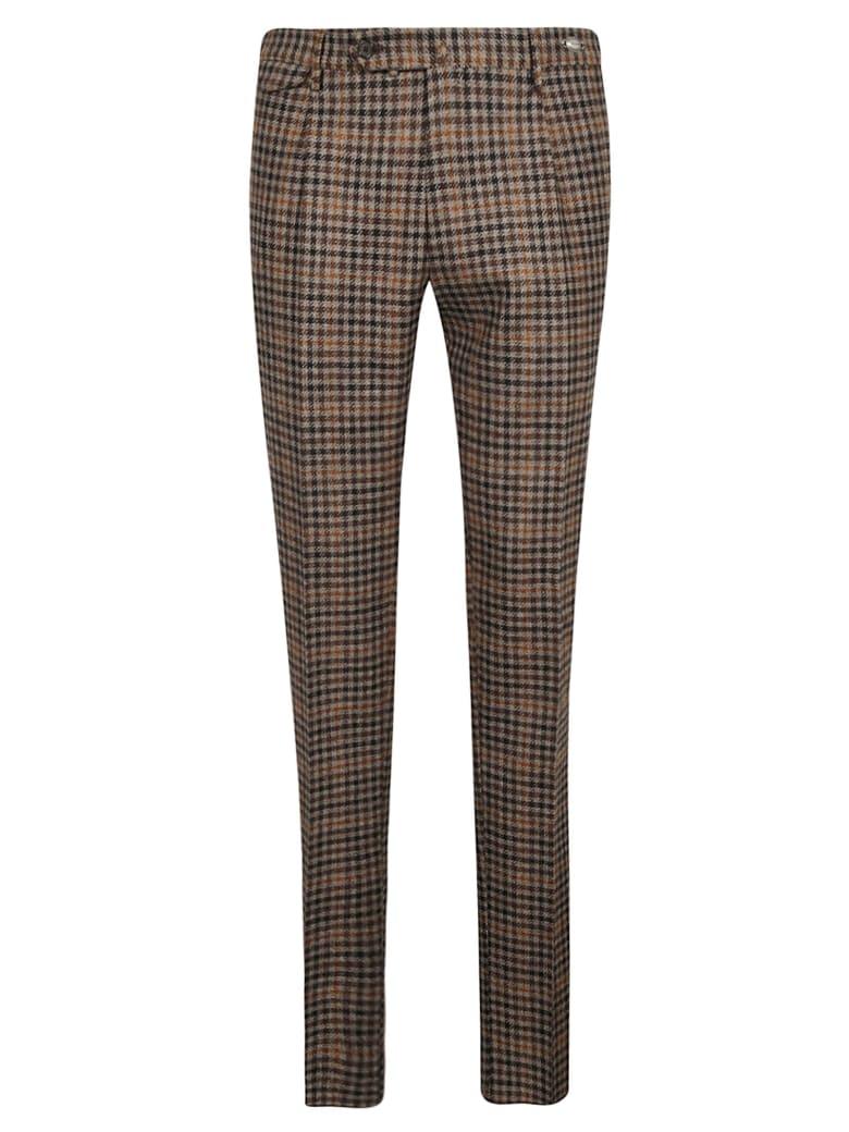 Tagliatore Skinny Fit Trousers - Brown