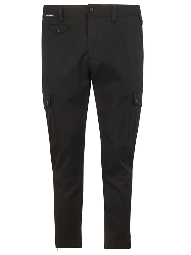 Dolce & Gabbana Cargo Trousers - black