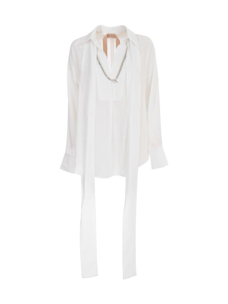 N.21 Gerogette Shirt - Optical White