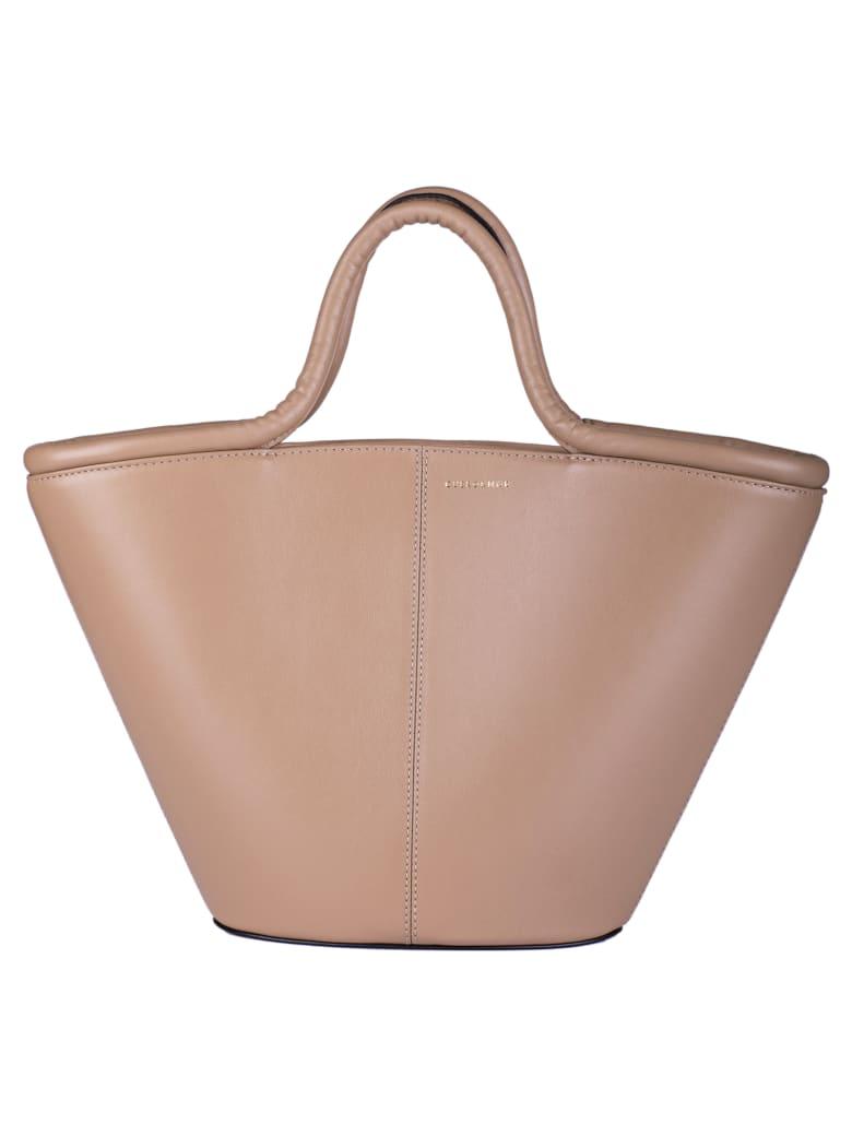 Cuero&Mør Trapeze Shopper Bag - Cappuccino
