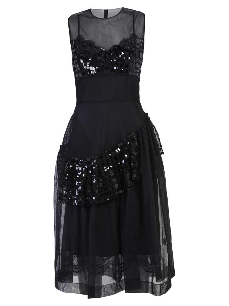 Simone Rocha Bustier Dress - Black