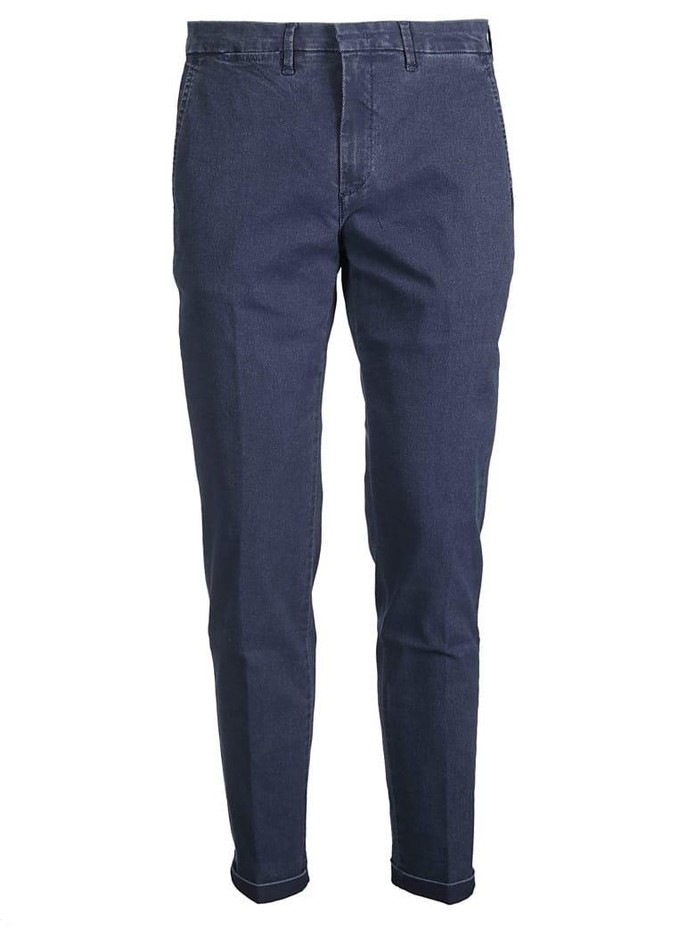 Fay Classic Trousers - Jeans Medio