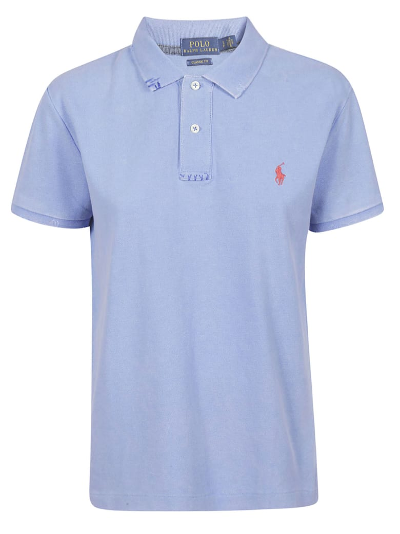 free shipping 21a14 b1ead Best price on the market at italist | Polo Ralph Lauren Polo Ralph Lauren  Embroidered Polo Shirt