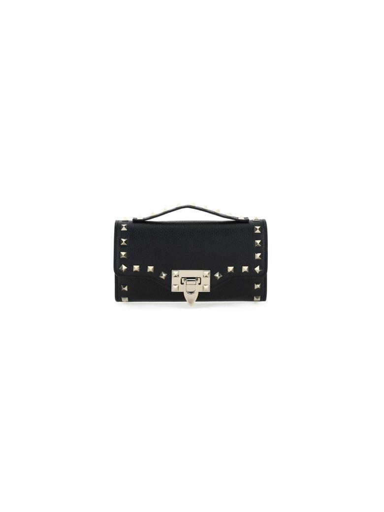 Valentino Garavani Chain Wallet - Black