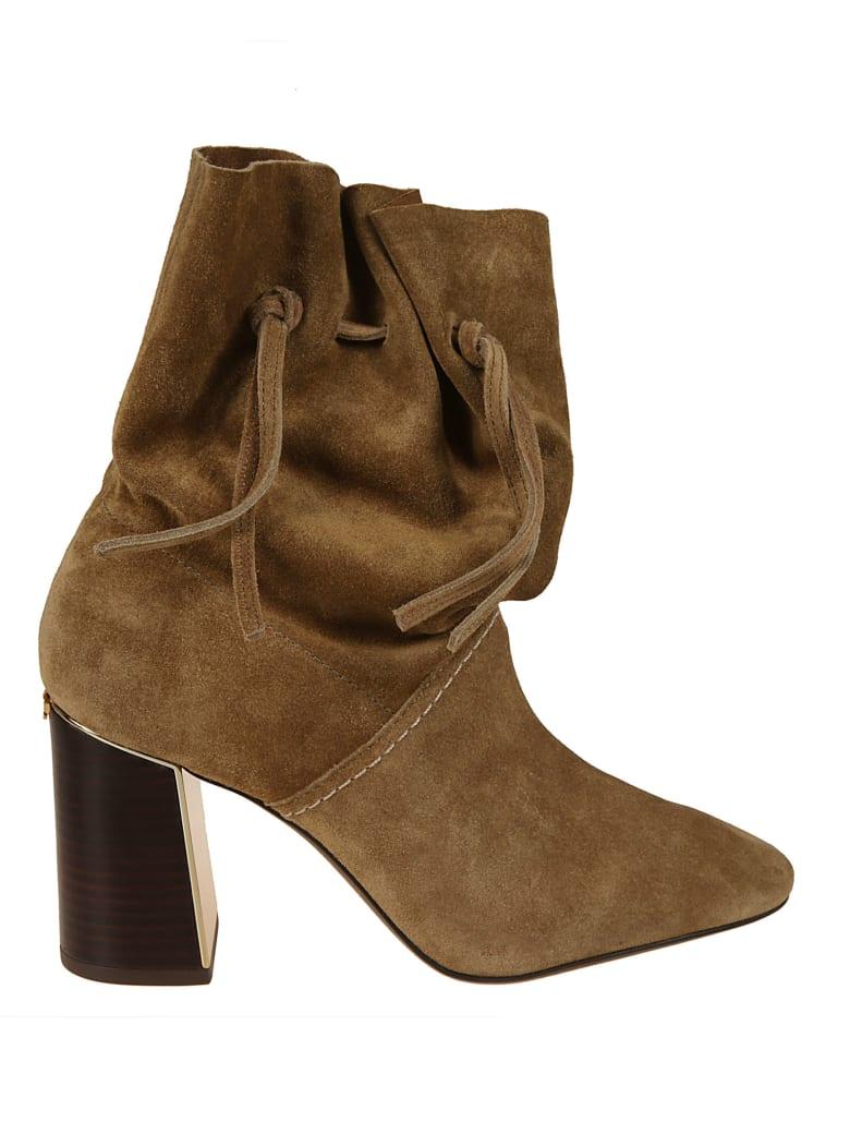 Tory Burch Gigi Ankle Boots - mud