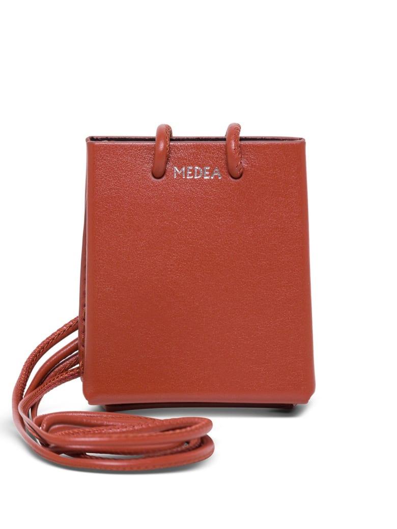 Medea Mini Medea Long Strap Crossbody Bag - Red