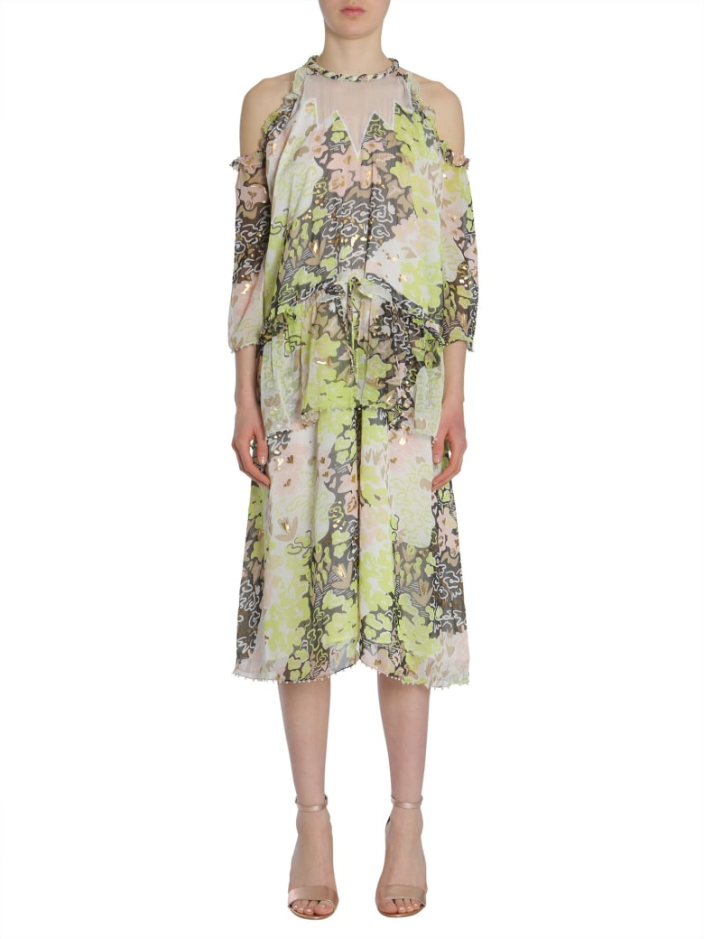 Opening Ceremony Floral Dress - MULTICOLOR