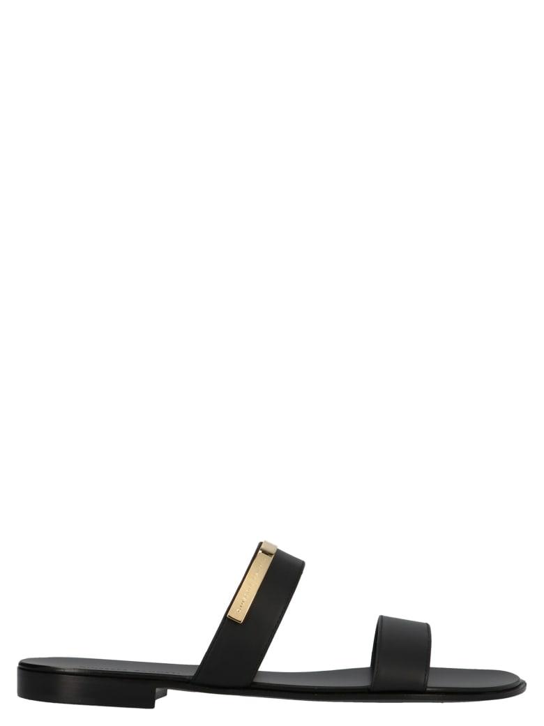 Giuseppe Zanotti 'zak' Shoes - Black