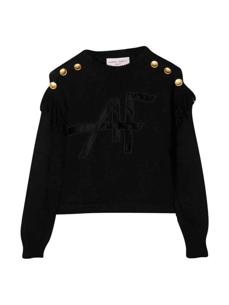 Alberta Ferretti Black Sweater - Nero