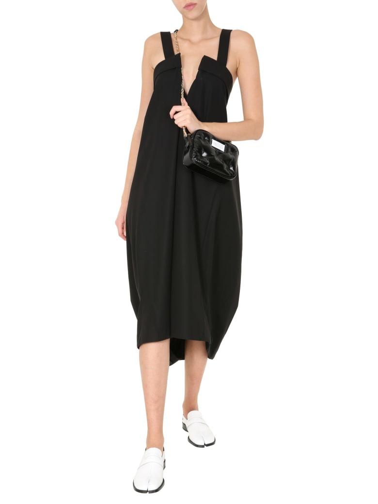 Maison Margiela V-neck Dress - NERO