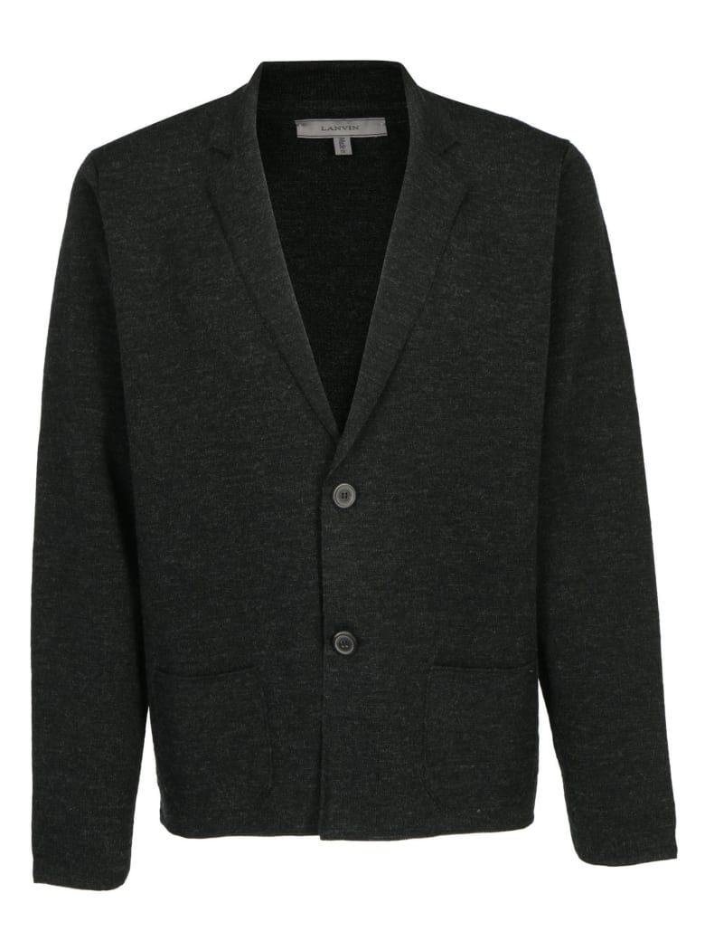 Lanvin Milano Stitch Jacket - Anthracite