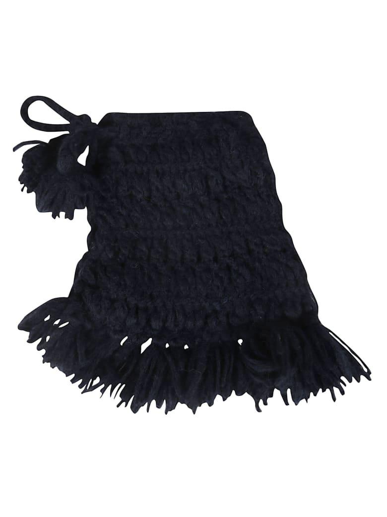 Alanui Handmade Arctice Shades Shoulder Bag - Nocturne