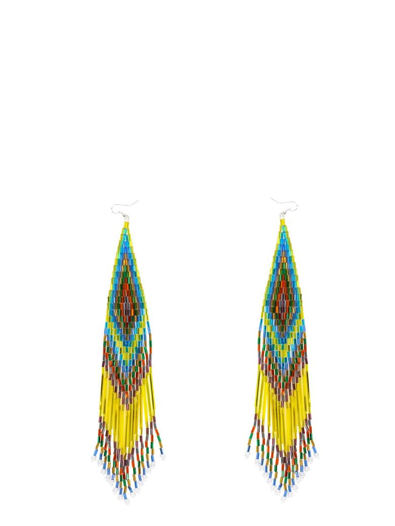 Jessie Western Earrings - Yellow