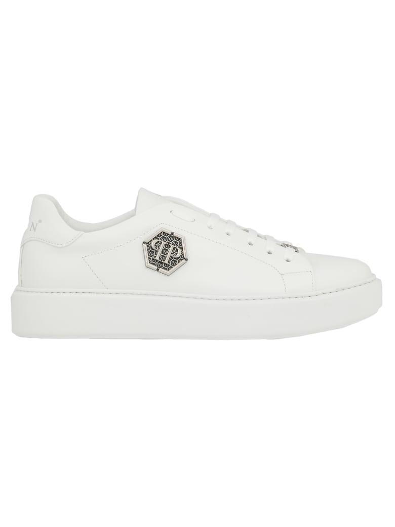 Philipp Plein Lo-top Sneakers - WHITE