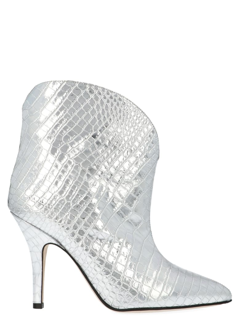Paris Texas Shoes - Silver