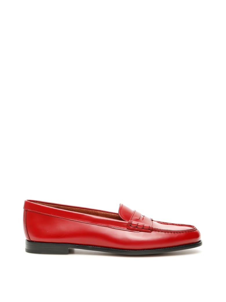 Church's Kara 2 Loafers - SCARLET (Red)