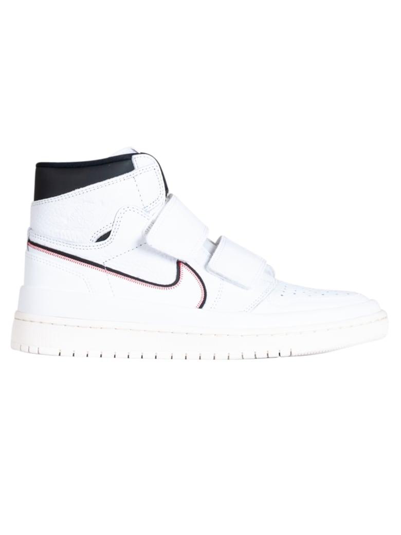 Best price on the market at italist   Nike Air Jordan 1 Re Hi Double Strp Whitewhite black sail