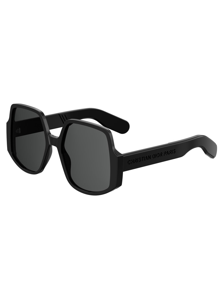 Christian Dior DIORINSIDEOUT1 Sunglasses - K Black