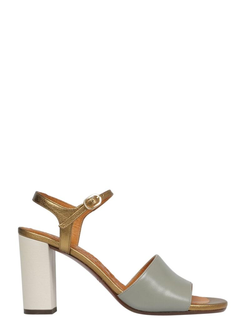 Chie Mihara Sandals - Alfa Celadon Posh Gold