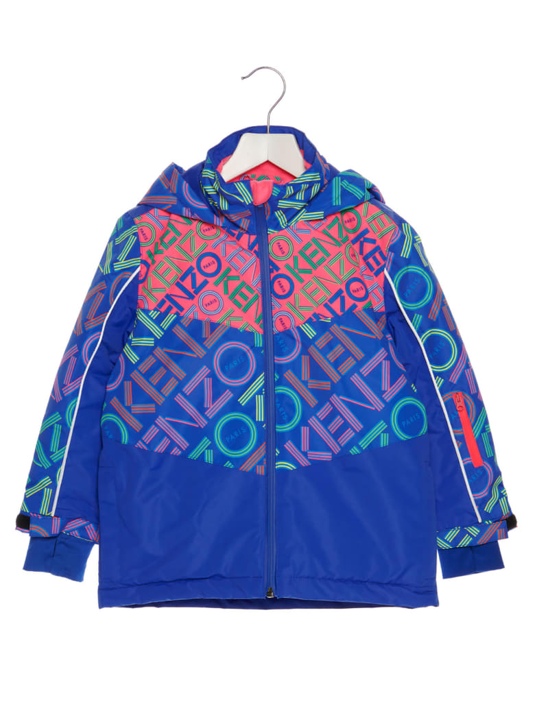 Kenzo Kids 'activewear' Parka - Multicolor