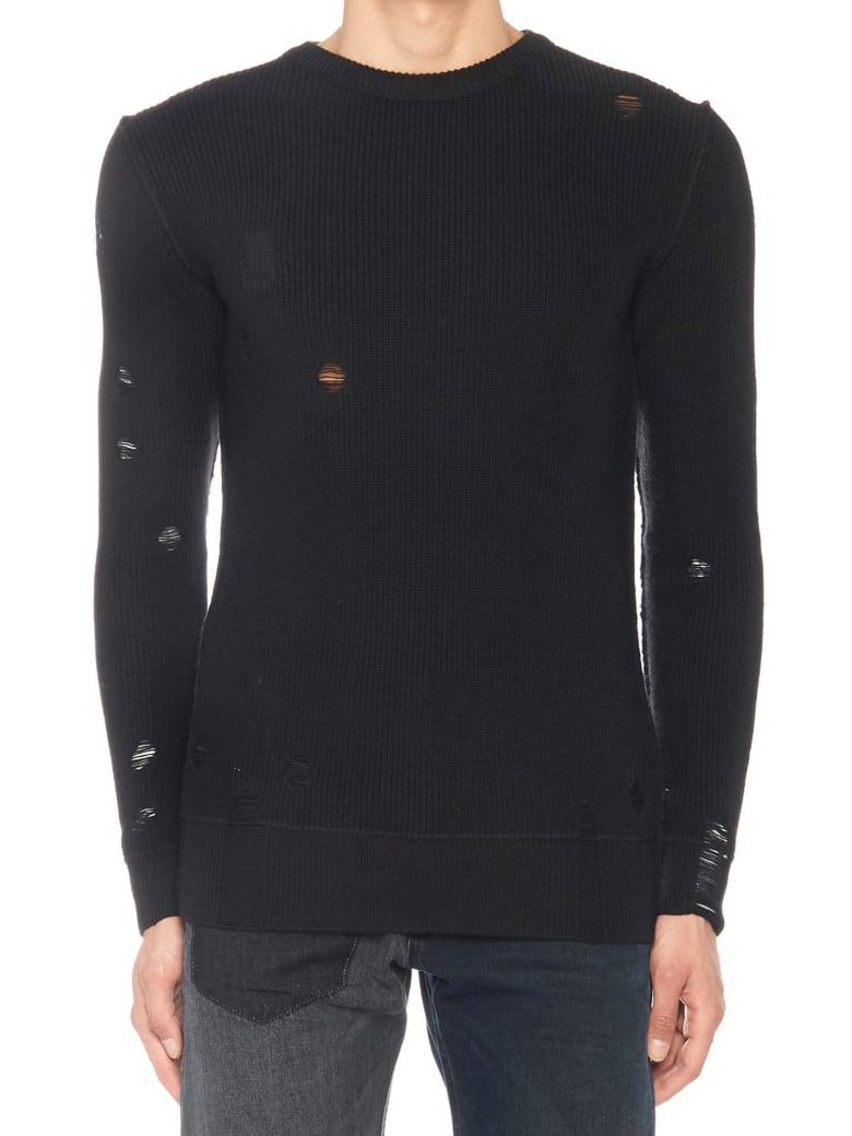 Diesel Black Gold 'kabuco' Sweater - Black