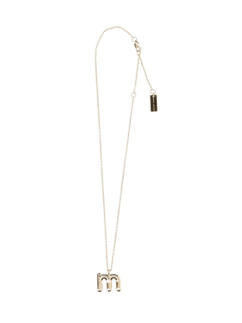 Marc Jacobs Bubbly M Pendant - Gold