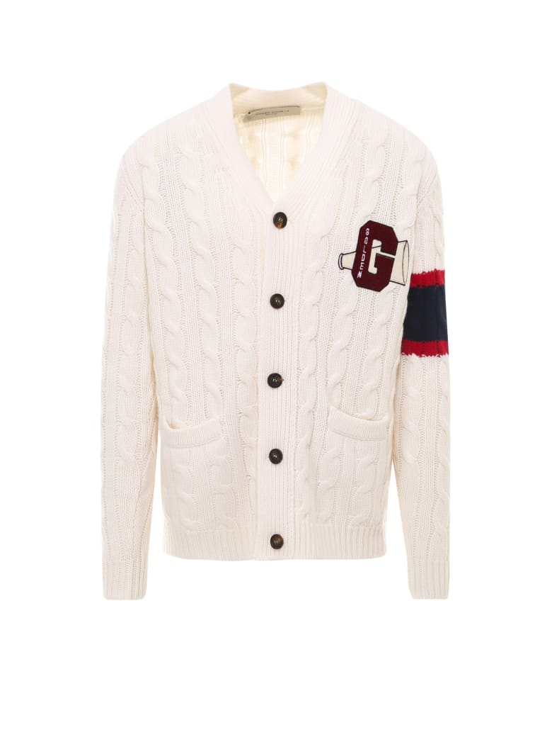 Golden Goose Cardigan - White