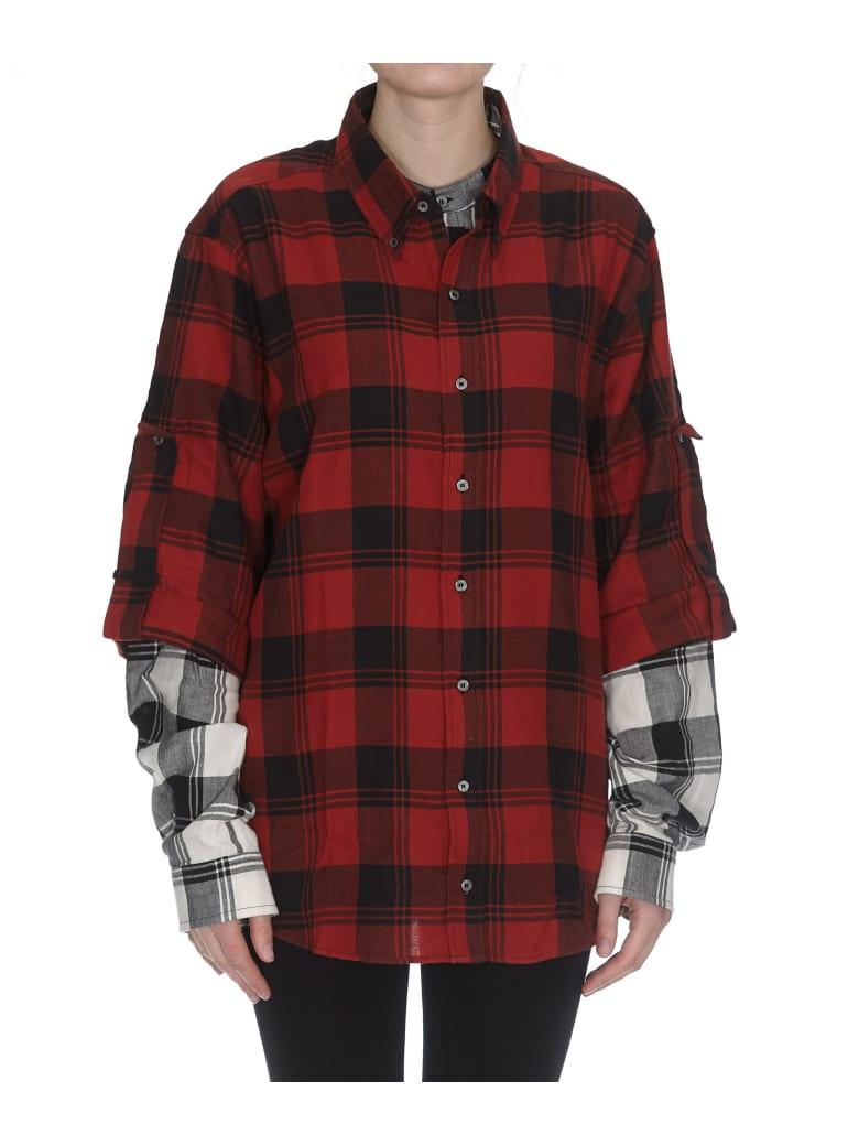 Faith Connexion Shirt - Red/black